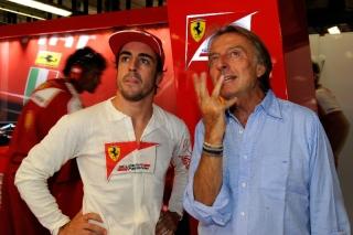 FIA Formula One World Championship 2013 - Round 12 - Grand Prix of Italy - Fernando Alonso and Luca di Montezemolo / Image: Copyright Ferrari