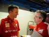 FIA Formula One World Championship 2013 - Round 12 - Grand Prix of Italy - James Allison and Pat Fry / Image: Copyright Ferrari