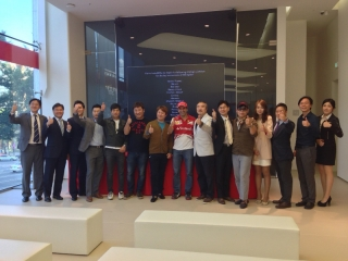 FIA Formula One World Championship 2013 - Round 14 - Grand Prix of Korea - Gené Ferrari's ambassador in Seoul / Image: Copyright Ferrari
