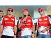 FIA Formula One World Championship 2013 - Round 15 - Grand Prix of Japan - Fernando Alonso, Kamui Kobayashi and Felipe Massa / Image: Copyright Ferrari