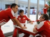 FIA Formula One World Championship 2013 - Round 15 - Grand Prix of Japan - Diego Ioverno, Massimo Rivola and Pat Fry / Image: Copyright Ferrari