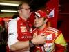 FIA Formula One World Championship 2013 - Round 19 - Grand Prix of Brazil  - Stefano Domenicali and Felipe Massa / Image: Copyright Ferrari