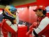 FIA Formula One World Championship 2013 - Round 19 - Grand Prix of Brazil  - Fernando Alonso and Pedro de la Rosa / Image: Copyright Ferrari
