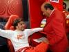 FIA Formula One World Championship 2013 - Round 19 - Grand Prix of Brazil  - Fernando Alonso and Emilio Botin / Image: Copyright Ferrari