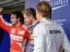 FIA Formula One World Championship 2013 - Round 19 - Grand Prix of Brazil  - Fernando Alonso, Sebastian Vettel and Nico Rosberg / Image: Copyright Ferrari
