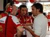 FIA Formula One World Championship 2013 - Round 19 - Grand Prix of Brazil - Simone Resta, Andrea Stella, Fernando Alonso / Image: Copyright Ferrari