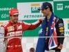FIA Formula One World Championship 2013 - Round 19 - Grand Prix of Brazil - Fernando Alonso and Mark Webber / Image: Copyright Ferrari