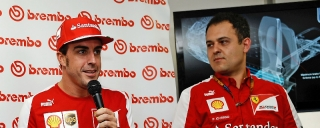 FIA Formula One World Championship 2013 - Round 2 - Grand Prix Malaysia - Fernando Alonso and Diego Ioverno / Image: Copyright Ferrari
