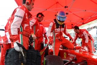 FIA Formula One World Championship 2013 - Round 2 - Grand Prix Malaysia - Fernando Alonso - Ferrari F138/ Image: Copyright Ferrari