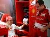 FIA Formula One World Championship 2013 - Round 2 - Grand Prix Malaysia - Fernando Alonso and Stefano Domenicali / Image: Copyright Ferrari