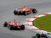 FIA Formula One World Championship 2013 - Round 2 - Grand Prix Malaysia - Fernando Alonso and Felipe Massa - Ferrari F138/ Image: Copyright Ferrari