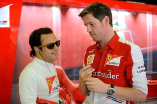 FIA Formula 1 World Championship 2013 - Round 5 - Grand Prix Spain - Felipe Massa and Rob Smedley / Image: Copyright Ferrari