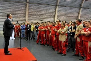 "Domenicali: ""A win without ifs or buts"" / Image: Copyright Ferrari"