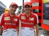 FIA Formula 1 World Championship 2013 - Round 5 - Grand Prix Spain - Marc Gené and Pedro De la Rosa / Image: Copyright Ferrari
