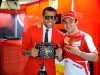 FIA Formula 1 World Championship 2013 - Round 5 - Grand Prix Spain - Dani Alves and Felipe Massa / Image: Copyright Ferrari