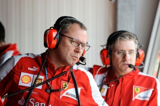 FIA Formula 1 World Championship 2013 - Round 6 - Grand Prix Monaco - Stefano Domenicali and Pat Fry / Image: Copyright Ferrari