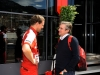 FIA Formula 1 World Championship 2013 - Round 6 - Grand Prix Monaco - Renato Bisignani and Pat Fry/ Image: Copyright Ferrari