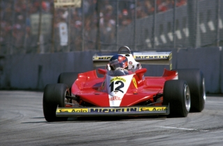 FIA Formula 1 World Championship 2013 - Round 7 - Grand Prix Canada - Gilles Villeneuve 1978 / Image: Copyright Ferrari