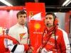FIA Formula 1 World Championship 2013 - Round 7 - Grand Prix Canada - Fernando Alonso and Andrea Stella  / Image: Copyright Ferrari