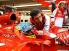 FIA Formula 1 World Championship 2013 - Round 7 - Grand Prix Canada - Fernando Alonso and Andrea Stella - Ferrari F138 - S/N 299 / Image: Copyright Ferrari