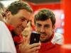 FIA Formula 1 World Championship 2013 - Round 7 - Grand Prix Canada - Renato Bisignani and Fernando Alonso / Image: Copyright Ferrari