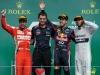 FIA Formula 1 World Championship 2013 - Round 7 - Grand Prix Canada - Fernando Alonso, Sebastian Vettel and Lewis Hamilton / Image: Copyright Ferrari