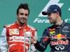 FIA Formula 1 World Championship 2013 - Round 7 - Grand Prix Canada - Fernando Alonso and Sebastian Vettel / Image: Copyright Ferrari