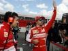 FIA Formula 1 World Championship 2013 - Round 7 - Grand Prix Canada - Fernando Alonso and Anrea Stella / Image: Copyright Ferrari