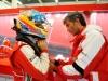 FIA Formula 1 World Championship 2013 - Round 8 - British Grand Prix - Edoardo Bendinelli and Fernando Alonso / Image: Copyright Ferrari