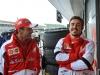 FIA Formula 1 World Championship 2013 - Round 8 - British Grand Prix - Marc Gené and Fernando Alonso / Image: Copyright Ferrari