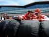 FIA Formula 1 World Championship 2013 - Round 8 - British Grand Prix - Andrea Stella and Fernando Alonso / Image: Copyright Ferrari