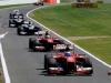 FIA Formula 1 World Championship 2013 -  Round 8 - British Grand Prix -  Fernando Alonso - Ferrari F138 - S/N 299 - Felipe Massa - Ferrari F138 - S/N 298 / Image: Copyright Ferrari
