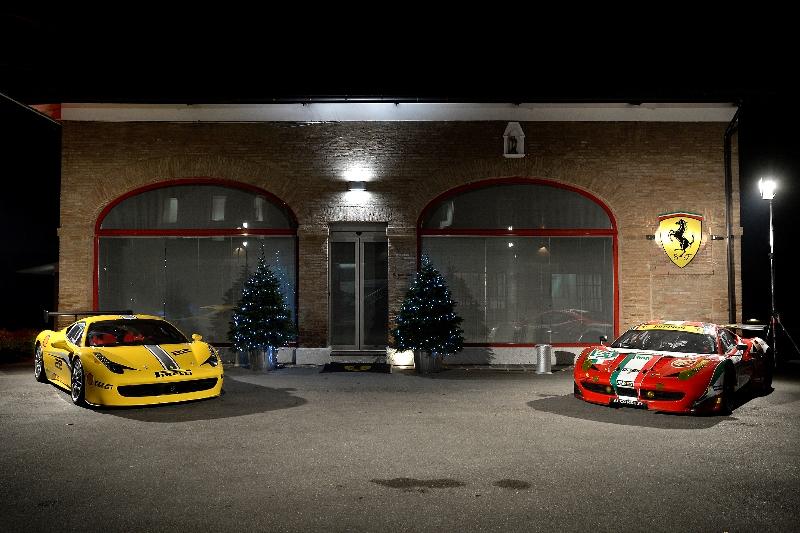 Formula 1 season 2014 presentation of the new ferrari for Ferrari christmas