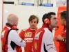 FIA Formula 1 Tests Bahrain 19.02. - 22.02.2014 - Simone Resta, Fernando Alonso, Andrea Stella - Ferrari F14 T / Image: Copyright Ferrari