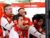 FIA Formula 1 Tests Bahrain 19.02. - 22.02.2014 - Pat Fry, Andrea Stella, Simone Resta / Image: Copyright Ferrari