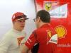 FIA Formula 1 Tests Bahrain 27.02. - 02.03.2014 - Kimi Raikkonen, Stefano Domenicali / Image: Copyright Ferrari
