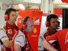 FIA Formula 1 Tests Bahrain 27.02. - 02.03.2014 - Massimo Rivola, Simone Resta, Giuliano Salvi / Image: Copyright Ferrari