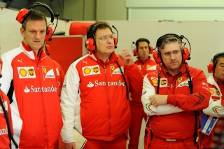 Formula 1 Tests Jerez 28.01. - 31.01.2014 - James Allison, Nikolas Tombazis, Pat Fry / Image: Copyright Ferrari
