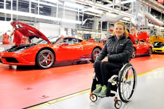 Francesca Porcellato - Paralympian - ITA - January 2014 / Image: Copyright: Ferrari