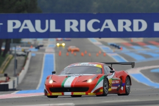 International GT Open 2013 - Round 1 - Paul Ricard - Claudio Sdanewitsch - Michele Rugolo - Ferrari 458 GT3 - AF Corse / Image: Copyright GT Open/FOTOSPEEDY
