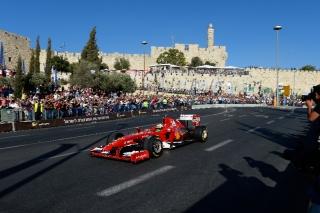 Jerusalem Peace Road Show 2013 / Image: Copyright Ferrari