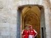 Jerusalem Peace Road Show 2013 - Antonio Fuoco and Giancarlo Fisichella / Image: Copyright Ferrari