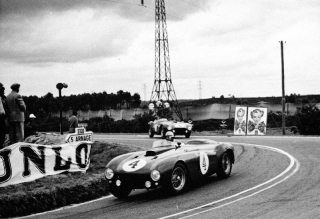 Le Mans 24 Hours 1954 - José Froilan Gonzales - Maurice Trintignant - 375 Plus Spider Pinin Farina - S/N 0396 AM - 1. Place / Image: Copyright Ferrari