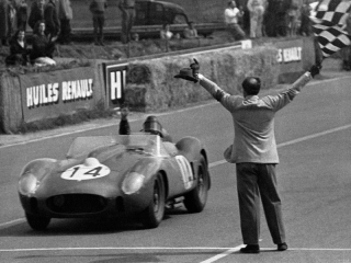 Le Mans 24 Hours 1958 - Olivier Gendebien - Phil Hill - 250 TR/58 Spider Scaglietti - S/N 0728 TR - 1. Place / Image: Copyright Ferrari