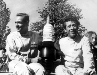 Le Mans 24 Hours 1962 - Phil Hill - Olivier Gendebien - Ferrari 330 TRI/LM - S/N 0808 - 1. Place / Image: Copyright Ferrari
