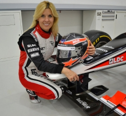 Maria de Villota - Marussia Test driver / Image: Copyright Maria de Villota