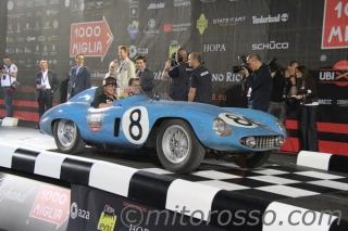 Mille Miglia 2011 - No. 320: Mellinger/Gizzi - 500 Mondial - S/N 0564 MD / Image: Copyright Mitorosso.com