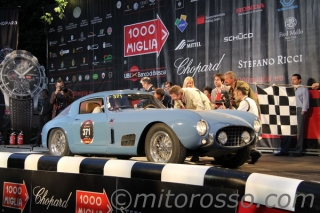 Mille Miglia 2012 - No. 371: Martin Gruss/Tony Dutton - 250 GT TdF Berlinetta - S/N 0563 GT / Image: Copyright Mitorosso.com