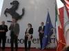 Museo Ferrari - California Dreaming Exhibition 2014 - Ferrari Chairman Luca di Montezemolo making his speech. Also present Antonio Ghini, the Mayor of Maranello Lucia Bursi and Councillor for Production Activities Gian Luigi Muzzarelli / Image: Copyright Ferrari