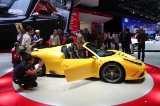 Paris Motor Show 2014 - 458 Speciale A / Image: Copyright Ferrari